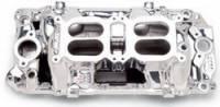 Chevrolet C10 Air and Fuel - Chevrolet C10 Intake Manifolds - Edelbrock - Edelbrock RPM Air Gap Dual-Quad Intake Manifold - Endurashine