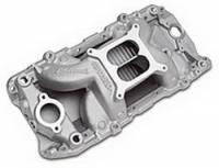 Chevrolet C10 Air and Fuel - Chevrolet C10 Intake Manifolds - Edelbrock - Edelbrock RPM Air-Gap 2-0 Intake Manifold - Polished Finish