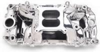Chevrolet C10 Air and Fuel - Chevrolet C10 Intake Manifolds - Edelbrock - Edelbrock RPM Air-Gap 2-0 Intake Manifold - Endurashine