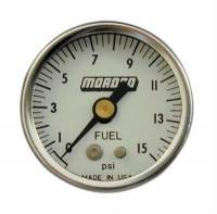 Fuel Injection System Components - EFI Fuel Pressure Gauges - Moroso Performance Products - Moroso Fuel Pressure Gauge - 0-100 psi