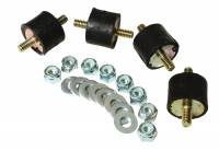 Fuel Pump Parts & Accessories - Electric Fuel Pump Mounts - Aeromotive - Aeromotive Fuel Pump Vibration Mount Kit