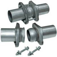 "Header Components and Accessories - Collector Reducers - Flowmaster - Flowmaster Header Collector Ball Flange Kit - 3.00"" to 2.50"" (Set of 2)"