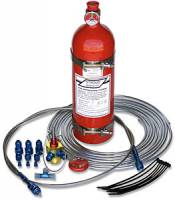 Fire Suppression Systems - Push Activated Systems - Stroud Safety - Stroud 5 Lb. FE- 36 Fire Suppression System - Pull Style