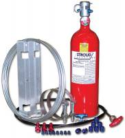 Safety Equipment - Stroud Safety - Stroud 10 Lb. FE-36 Fire Suppression System - Push Style