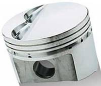 Pistons & Piston Rings - Forged Pistons - SB Chrysler - Sportsman Racing Products - SRP SB Chrysler 340 Flat Top Piston Set 4.070 Bore -5cc