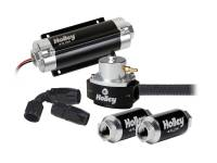 "Fuel Pumps, Regulators and Components - Fuel System Kits - Holley Performance Products - Holley EFI Fuel System Kit - Earl's Pro-Lite 350""¢ hose"