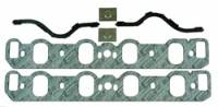 Intake Manifold Gaskets - Intake Manifold Gaskets - Ford Boss 302 / 351C / 351M / 400 - Mr. Gasket - Mr. Gasket Intake Gasket - Port Dimensions: Width: 1.53 in. x Height: 2.16 in.