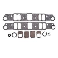 Gaskets and Seals - Intake Manifold Gaskets - Edelbrock - Edelbrock Intake Manifold Gasket Set - Port 1.18 x 2.2 in.