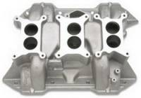 Engine Components - Edelbrock - Edelbrock 6-Packs Intake Manifold - Cast