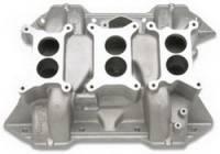 Intake Manifolds - Intake Manifolds - BB Chrysler - Edelbrock - Edelbrock 6-Packs Intake Manifold - Cast