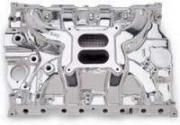 Intake Manifolds - Intake Manifolds - Big Block Ford / Ford FE - Edelbrock - Edelbrock Performer RPM FE Intake Manifold - Endurashine