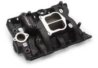 Intake Manifolds - Intake Manifolds - Pontiac - Edelbrock - Edelbrock Performer Pontiac Intake Manifold - Black