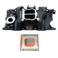 Intake Manifolds - Intake Manifolds - SB Chrysler - Edelbrock - Edelbrock Performer 318/360 Intake Manifold - Black