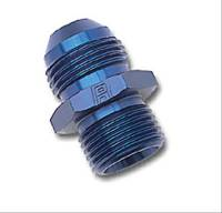 Fittings & Hoses - Russell Performance Products - Russell #4 Male to 8mm x 1.25 Male Straight Adapter