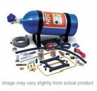 Nitrous Oxide Systems (NOS) - NOS Cheater Nitrous System - V8 Holley Dominator