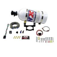 Ford Mustang (5th Gen) Air and Fuel - Ford Mustang (5th Gen) Nitrous Oxide Systems and Components - Nitrous Express - Nitrous Express (NX) EFI Plate NitrousPLate Sytem-Ford 5.0 Coyote with 10LB Bottle