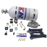 Nitrous Oxide - Nitrous Oxide Systems - Nitrous Express - Nitrous Express Hitman Plate Nitrous System w/ 10 lb. Bottle/Brackets