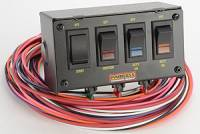 Switch Panels - Painless Performance Switch Panels - Painless Performance Products - Painless Performance 4 Switch Panel w/ Harness