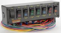 Switch Panels - Painless Performance Switch Panels - Painless Performance Products - Painless Performance 8 Switch Panel w/ Harness