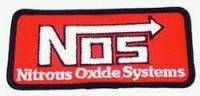 Crew Apparel - Patches - Nitrous Oxide Systems (NOS) - NOS Patch Logo