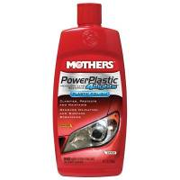 Mothers Polishes-Waxes-Cleaners - Mothers Power Plastic Cleaner/Polish 8oz