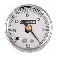 Analog Gauges - Vacuum Gauges - Moroso Performance Products - Moroso 1-1/2 Vacuum Gauge - 0-30HG