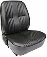 Seats - ProCar Seats - Procar by Scat - ProCar Pro90 Low Back Recliner Seat - Left Side - Vinyl - Black