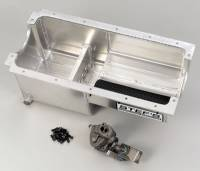 Stef's Fabrication Specialties - Stef's SB Chevy Aluminum Oil Pan Kit - w/ M55 Oil Pump
