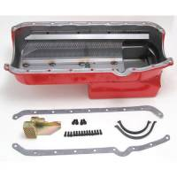 Engine Components - Hamburger's Performance Products - Hamburgers Econo-Series Oil Pan - SB Chevy