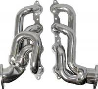 Shorty Headers - SB Chevy Shorty Headers - BBK Performance - BBK Performance Tuned-Length Shorty Headers - Silver Ceramic