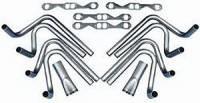"Weld-Up Header Kits - Small Block Chevrolet Weld-Up Header Kit - Hedman Hedders - Hedman Hedders SB Chevy Weld-Up Hedder Kit 2"" Brodix Spread Port"