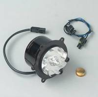 Water Pumps - Electric - Small Block Chevy Electric Water Pumps - Meziere Enterprises - Meziere LT-1 Electric Water Pump - Black