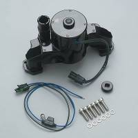 Water Pumps - Electric - Small Block Chevy Electric Water Pumps - Meziere Enterprises - Meziere LS-1 Electric Water Pump - Black