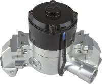 Water Pumps - Electric - Small Block Ford Electric Water Pumps - CVR Performance Products - CVR Performance SB Ford Billet Aluminum Electric Water Pump Clear