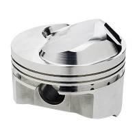 Sportsman Racing Products - SRP BB Chevy Domed Piston Set 4.350 Bore +48cc