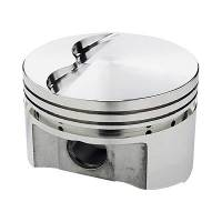 Engine Components - Sportsman Racing Products - SRP BB Chevy Flat Top Piston Set 4.320 Bore -3cc
