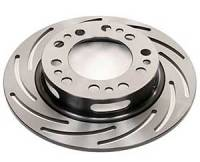 "Disc Brake Rotors - Strange Slotted Brake Rotors - Strange Engineering - Strange Engineering Light Weight Brake Rotor - LH 10"" Slotted"