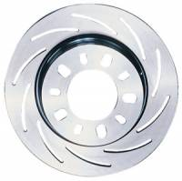 "Brake System - Strange Engineering - Strange Engineering LH HD Tapered Slotted 11.250"" Brake Rotor"