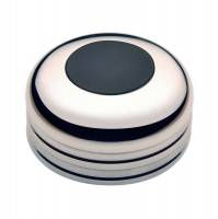 GT Performance - GT Performance GT3 Low Profile Plain Black Horn Button with Spacer - Image 1