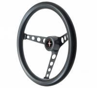 GT Performance - GT Performance GT Classic Foam Steering Wheel-Black - Image 5