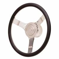 GT Performance - GT Performance GT Retro Banjo Style Leather Steering Wheel - Image 2