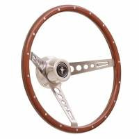 GT Performance - GT Performance GT Retro Wood Mustang Style Steering Wheel - Image 2