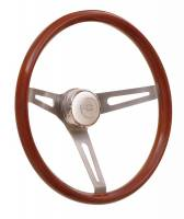 Cockpit & Interior - GT Performance - GT Performance GT Retro Light Wood Steering Wheel