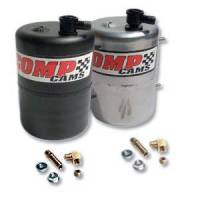 Vacuum Pumps & Accessories - Vacuum Canisters - Comp Cams - COMP Cams Vacuum Canister Aluminum Zinc Plated & Polished