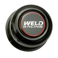Wheel Parts & Accessories - Weld Racing Center Caps and Hub Covers - Weld Racing - Weld Black Center Cap 5 Lug Application - 2.20""
