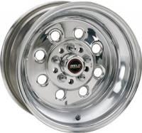 """Wheels - Street / Strip - Weld Racing Draglite Wheels - Weld Racing - Weld Draglite Polished Wheel - 15 X 15"""" - 5 x 4.5""""-4.75"""" Bolt Circle - 7.5"""" Back Spacing - 18.15 lbs"""