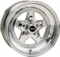 "Wheels - Street / Strip - Weld Racing Prostar Wheels - Weld Racing - Weld Pro Star Polished Wheel - 15"" x 10"" - 5 X 4.75"" Bolt Circle - 5.5"" Back Spacing - 15.1 lbs"
