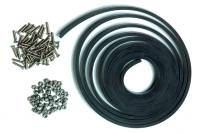 "Drag Racing - Window Frames, Latches & Mounts - Chassis Engineering - Chassis Engineering Window Installation Kit w/ 1/4"" Thick Rubber"