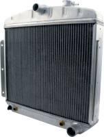 Allstar Performance Radiators - Allstar Performance 1955-57 Chevy Aluminum Radiators - Allstar Performance - Allstar Performance Radiator 1955-56 Chevy 6 Cylinder w/ Transmission Cooler