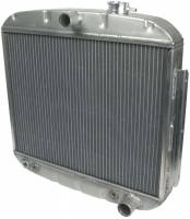 Allstar Performance Radiators - Allstar 1955-57 Chevy Aluminum Radiators - Allstar Performance - Allstar Performance Radiator 1955-57 Chevy 8 Cylinder w/ Transmission Cooler